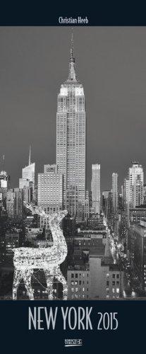 New York 2015: PhotoArt Vertikal Kalender