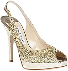 fa25ea967df8 Real vs. Steal - Jimmy Choo Besso Textured and Mirrored-Leather Sandals