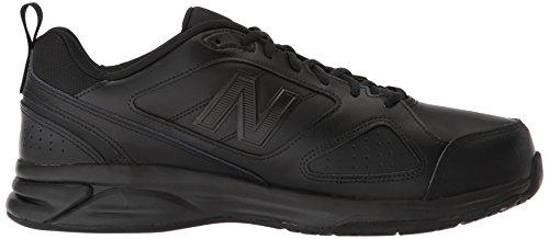New Balance Mens MX623v3 Training Shoe Black Leather gjlEc