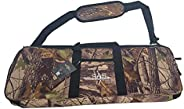 SAS Recurve Takedown Bow Case with Detachable Shoulder Sling and Pockets