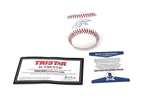 Gleyber Torres New York Yankees Signed Autograph Official MLB Baseball Beckett & Tristar Authentic Certified