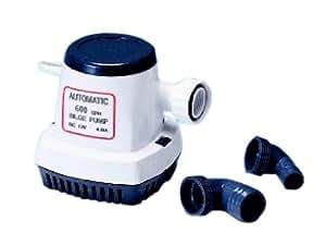 TMC - Bomba de achique para lanchas (completamente automática, 600 gph)