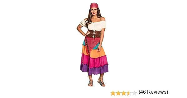 Desconocido Boland 87775 - Adult Costume gitana Nadya, tamaño 44 ...