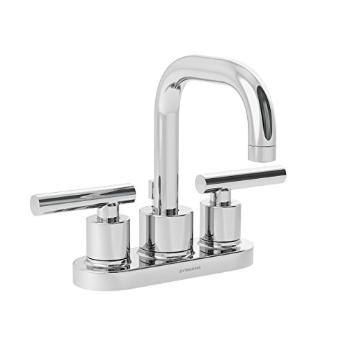 Cheap Touch On Faucets symmons dia two handle 4 inch centerset bathroom faucet with pop up