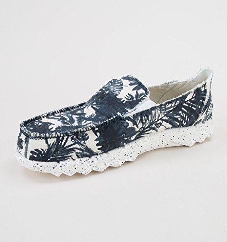 Shoes Blu Calzare Blu Mulo Farty Stampa Uomo Il Dude Fdx8AF