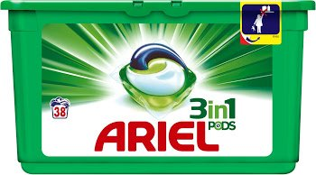 Ariel Colour 3 In 1 Pods Washing Capsules 38 Washes