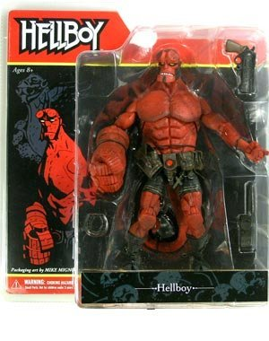 Amazon Com Hellboy Comic Book Action Figure By Mezco Toys Games
