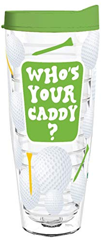 WHO'S YOUR CADDY 26oz Tritan Insulated Tumbler With Lid and Straw