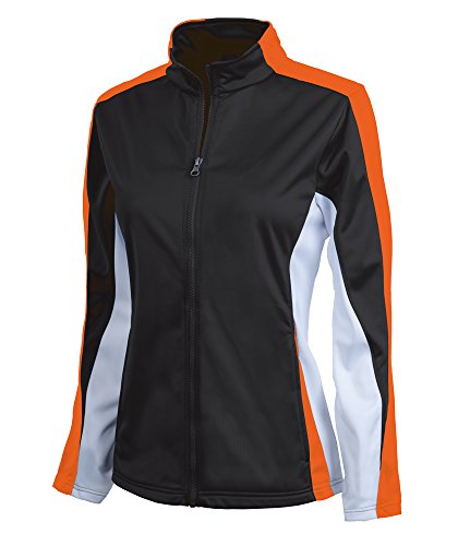 Charles River Women's Energy Jacket - Black/Orange/White - S ()