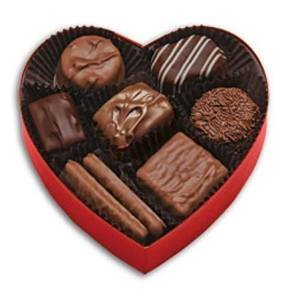 - 4oz See's Candies Classic Red Heart with Assorted Chocolates, Pack of 1