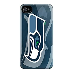 CharlesPoirier Iphone 4/4s Bumper Hard Phone Cover Provide Private Custom High-definition Seattle Seahawks Series [WjQ878exiS]