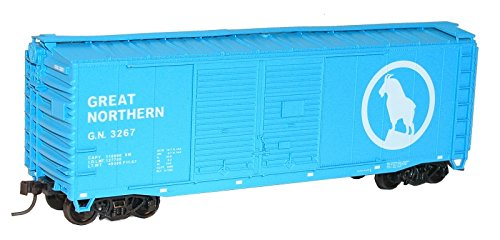 Accurail 3634 HO Scale Kit 40' AAR Dbl Door Boxcar Great Northern ()