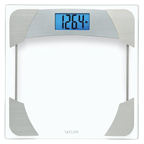 Taylor 400 Lb. Capacity Digital Glass Bathroom Scale with St