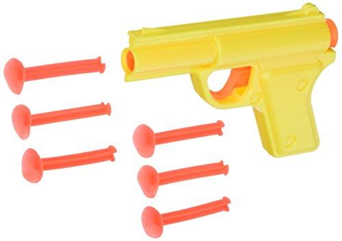 Ja-Ru Blaster Power Series Plastic Dart Gun with Soft Dart Shots - Orange (Toy Dart Gun)