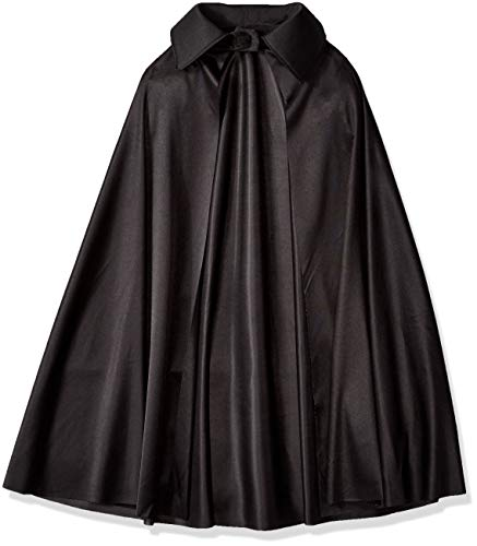 Amscan Black Cape Halloween Costume Accessory for Kids, One Size