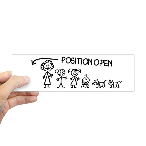 position open car decal - 7