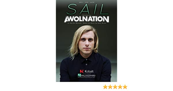 Awolnation Sail Pianovocalguitar Sheet Music Single
