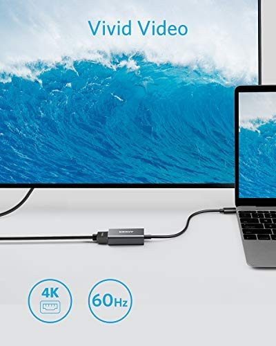 for The New Macbook//Chromebook Pixel and More Anker USB-C to HDMI Adapter Supports 4K//60Hz
