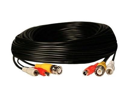 CCTV Cable todo en uno listo para Power Audio y Video 30 M