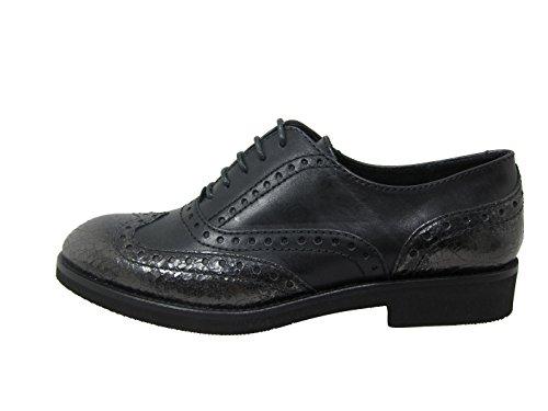 Schwarz Coupe Femme Chaussures Et À Classique Tine's Lacets 0azPq
