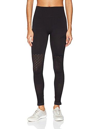 (Maaji Women's Paloma Seamless Mid Rise Long Legging, Black,)
