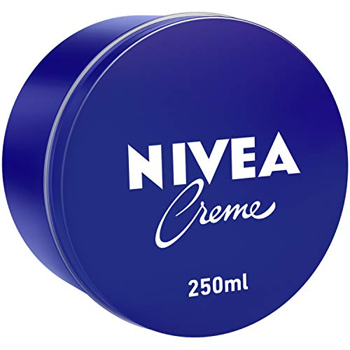 NIVEA Creme, Universal All Purpose Moisturizing Cream, Tin 250ml