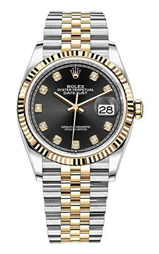 Rolex Datejust 36 mm 126233 18K Yellow Gold/Stainless Steel Jubilee Unisex Watch