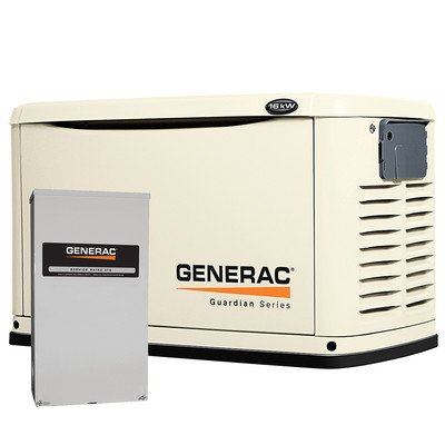 Generac 6462 Guardian Series, 16kW Air Cooled Standby Gen...