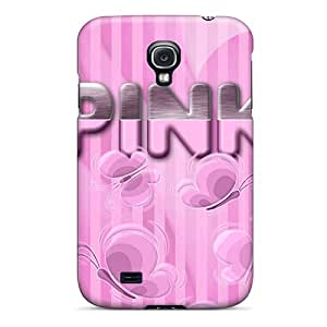 Durable Protector Cases Covers With Pink Hot Design For Galaxy S4