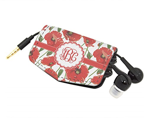 Poppies Genuine Leather Cord Wrap (Personalized) ()