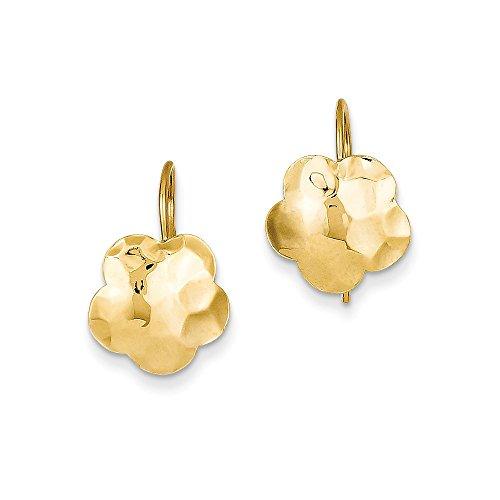Disc Kidney Wire Earrings - 4