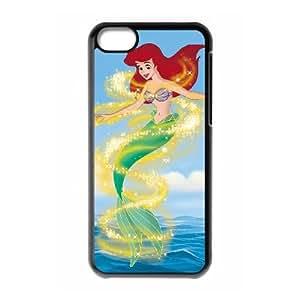 Little Mermaid III Ariel's Beginning iPhone 5c Cell Phone Case Black A9538766