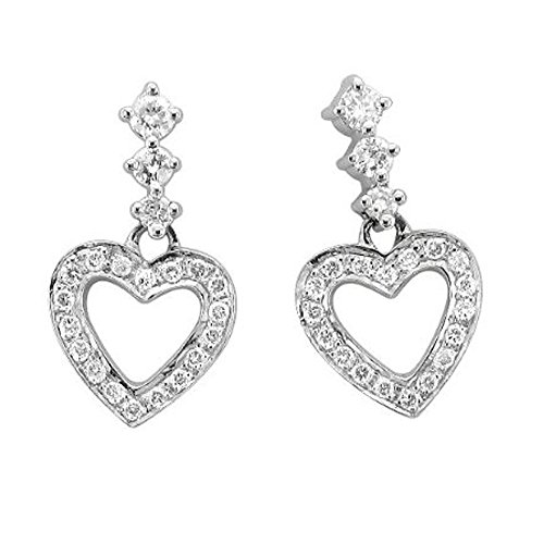 0.34 Ct Diamond Dangle - 1