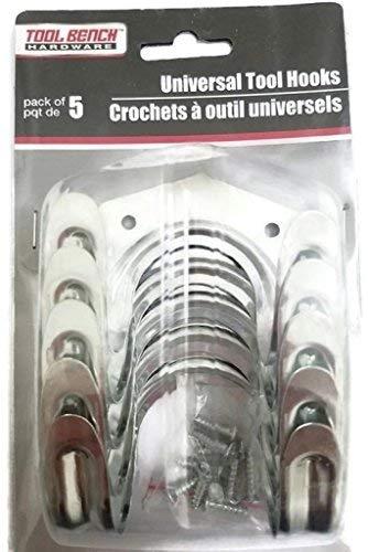 Universal herramienta de utilidad Ganchos; 5por paquete–(2paquetes)