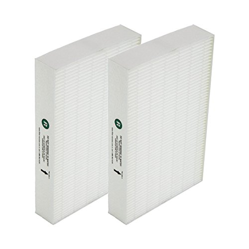 Aqua Green Honeywell HRF-R2 True HEPA Replacement Filter R - 2 Pack
