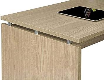 TopKit 5010RB Mesa de Escritorio Burgos 5010 con cajón (Ancho 100 ...