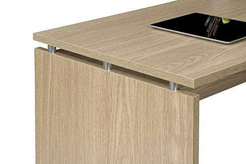 TOP KIT | Mesa de Escritorio Burgos 5014 con cajon (Ancho 140cm) | Roble