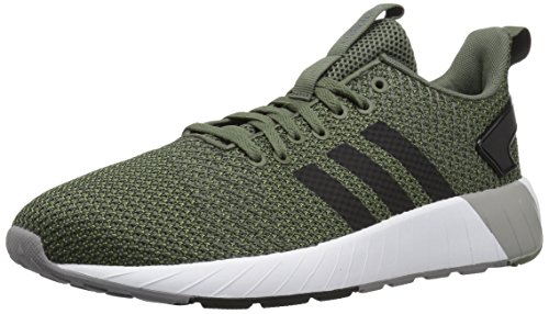 (adidas Men's Questar BYD Running Shoe, Base Green/Black/Grey, 10 M US )