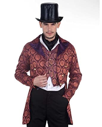 Men's Steampunk Jackets, Coats & Suits Steampunk Victorian Gentleman Opera Coat Costume $79.00 AT vintagedancer.com