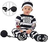 Spooktacular Creations Baby Prisoner Costume (18-24 Months) Black