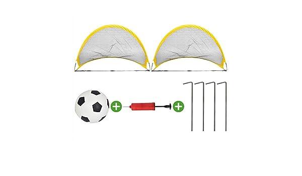 Lembeauty - Red Plegable para Entrenamiento de fútbol para niños y ...