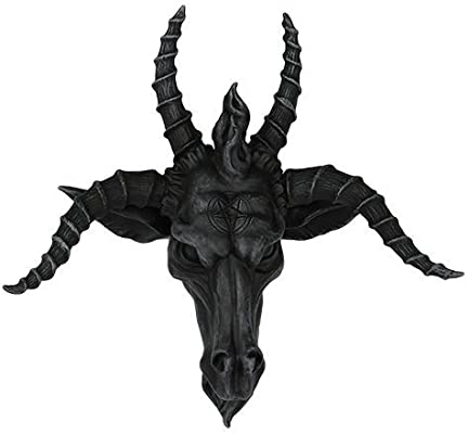 10 Inch Baphomet Mythological Creature Skull Statue Figurine