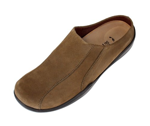 Footprints - Zuecos para hombre Topo (Suede Taupe)