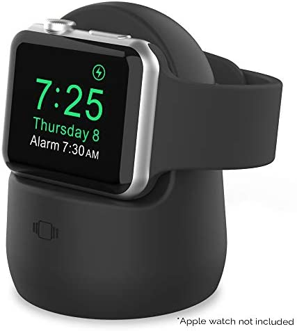 AhaStyle iWatch Stand Silicone Charging Dock...