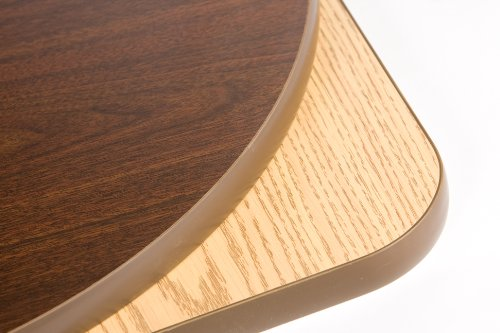 Oak Street Manufacturing CKTL30R-OW Two Sided Round Cocktail Table, 30