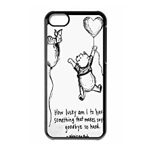 Customized Winnie the Pooh Hard Case For Iphone 5c KHR-U584911