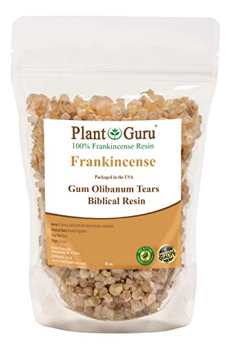 (Frankincense Resin 8 oz Tears 100% Pure Natural Aromatic Rock Incense Olibanum Gum Bulk)