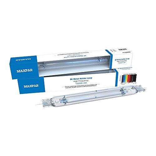 Nanolux MaxPar Double Ended (DE) 1000w Watt Replacement Lamps 6K 6000K MH Metal Halide Lamp with Outer Sleeve
