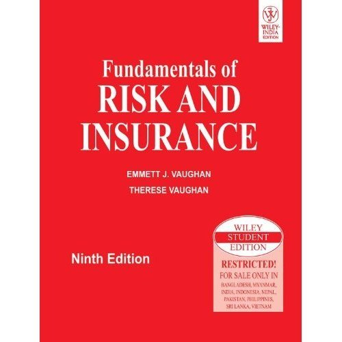 Fundamentals Of Risk And Insurance 9th Ed