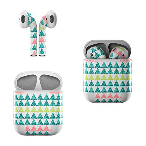 Skin Decals for Apple AirPods - Triangle Slice - Sticker Wrap Fits 1st and 2nd Generation